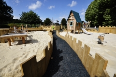 Sandpit at the Playground