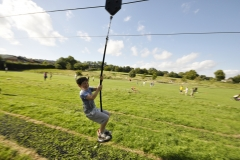 Child on Zipwire