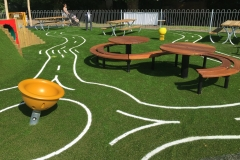 Grass Area of the Playground
